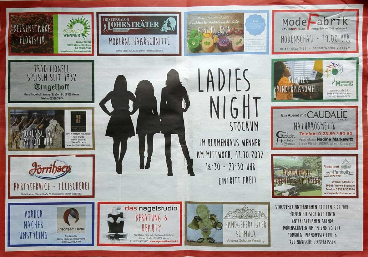 Blumenhaus Wenner - Ladies Night 2017